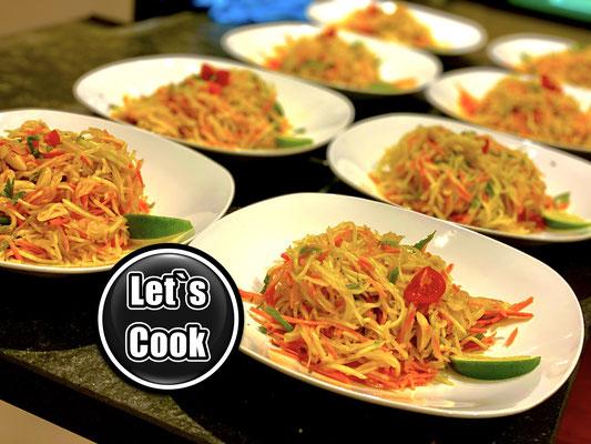Thai Papayasalat von Lets Cook