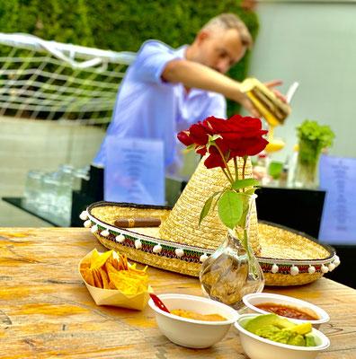Mexikanischer Event mit Motto, Geburtstagsfest, Anlass, Event, Vor ort frisch kochen.