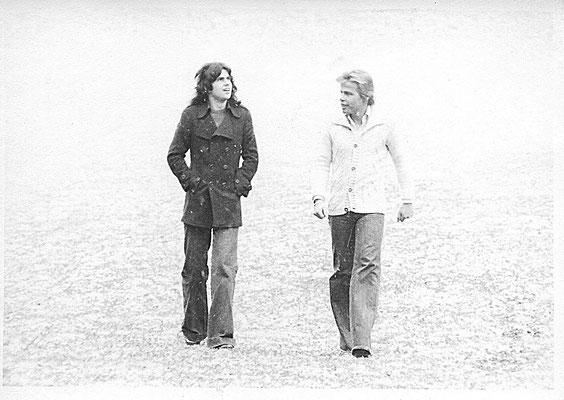 1975 - Duo Mayflower mit Klaus Pruenster & Gustl Müller