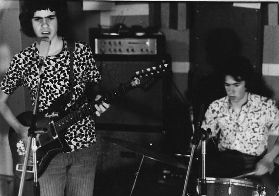 1973 - im Proberaum in Nofels