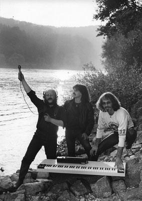 1980 - auf Klangsuche mit Hubert Bognermayr und Harald Zuschrader