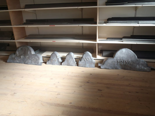 Montpellier (34), préparation des pièces en atelier