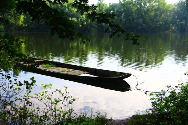 Boot am Nördlicher Baggersee