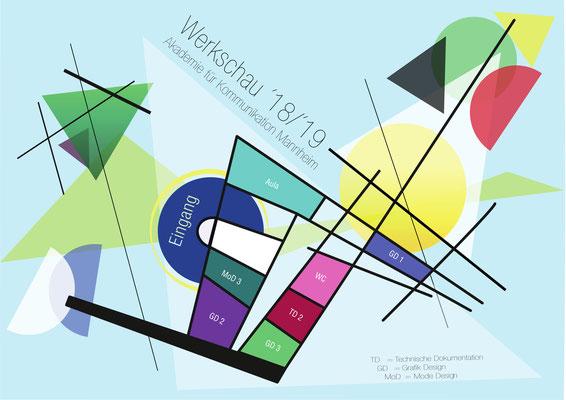 Farbleitsystem von Sahel, 2. Klasse Mediendesign / Technische Dokumentation.