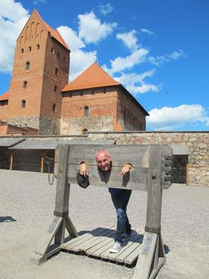 Gefangen in Trakai...