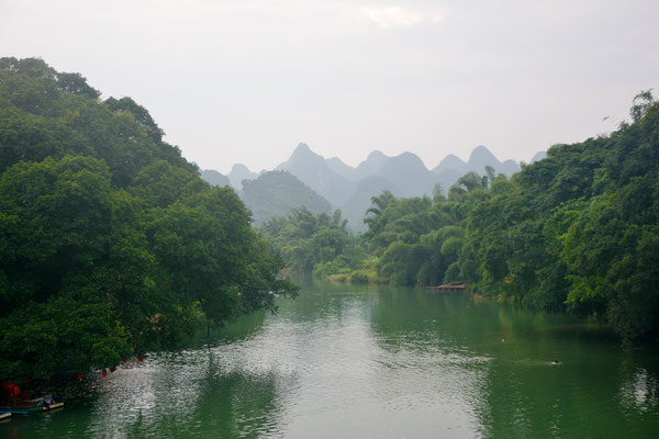 Rivière près de Liuzhou (GUANGXI) ©Michel AYMERICH