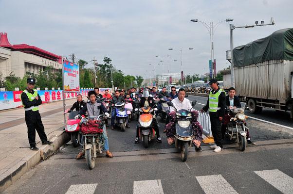 A vos mares, prêts, partez! Kunming, Chine 2017 ©AYMERICH Michel