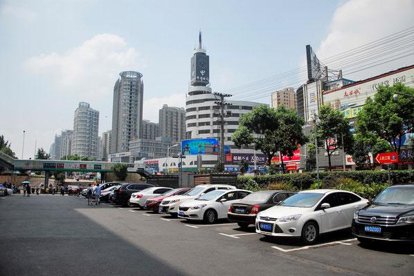 A Lu'an (province de ANHUI), la modernité s'est imposée et la modernisation se poursuit dans toutes les villes...  ©Michel AYMERICH