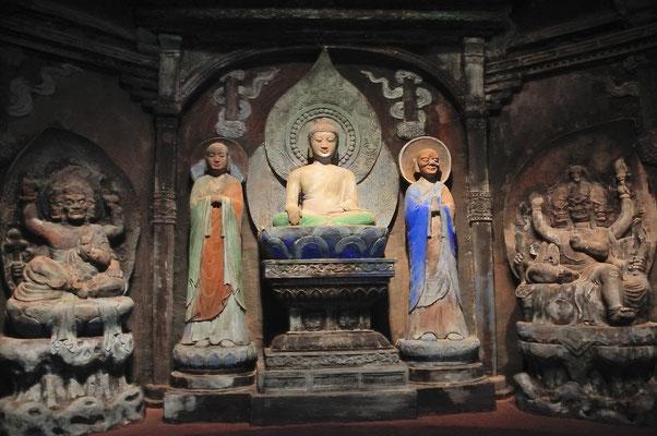 Au Musée d'art du Yunnan à Kunming, Chine 2017 ©AYMERICH Michel