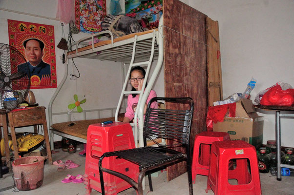 Mao reste très présent dans le peuple...  Sud de Nanning. Province du Guangxi, Chine 2017 ©AYMERICH Michel