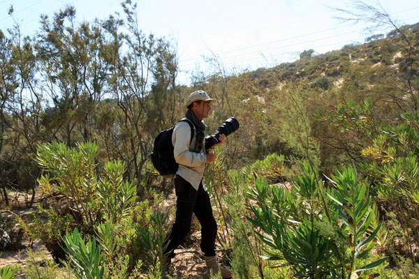Moi même photographié par Do Chi près d'Essaouira