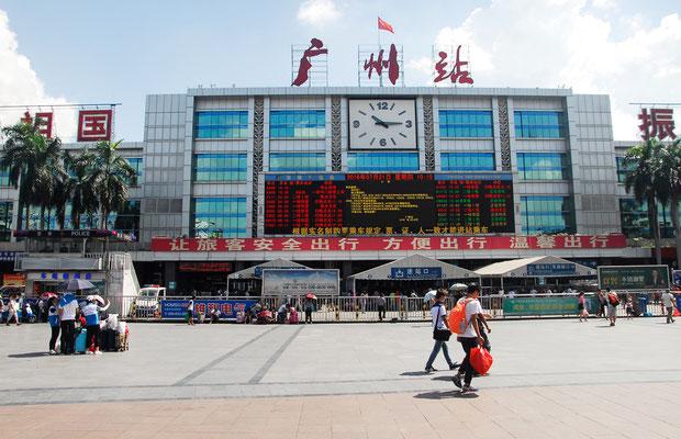 La gare de Guanzhou  (GUANGDONG) ©Michel AYMERICH