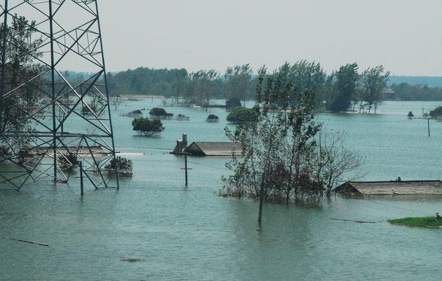 Des inondations ont frappé des régions du sud de la Chine... ©Michel AYMERICH