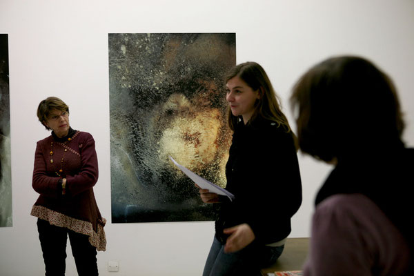 Conférence de Stefanie Baumann à art3 © Marie Voignier