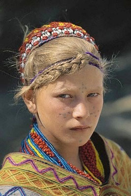 Jeune fille Kalash