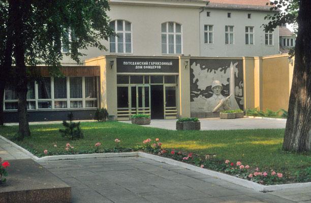Maison des officiers soviétiques à Potsdam © Michel Aymerich