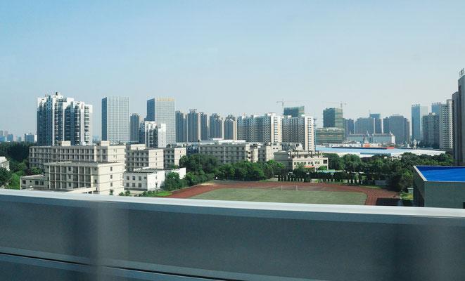 Des buildings, comme partout dans les villes en Chine ©Michel AYMERICH