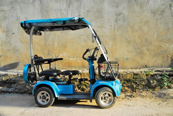 Il existe de nombreux types de véhicule électriques en Chine ©Michel AYMERICH