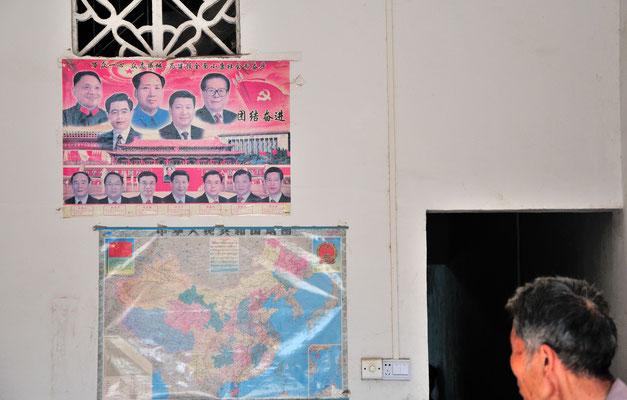 Sud de Nanning. Au centre, Xi Jinping (习近平), 7e président de la République populaire de Chine. Province du Guangxi, Chine 2017 ©AYMERICH Michel