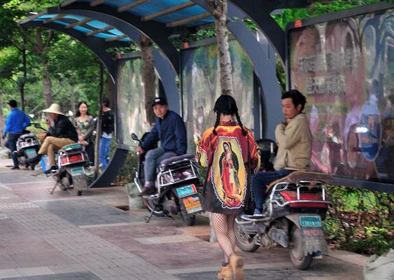 Vu à Kunming (Yunnan), Chine 2017 ©AYMERICH Michel