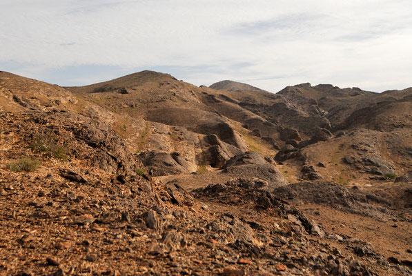 Massif montagneux de Leglet (Sahara atlantique) @Michel AYMERICH