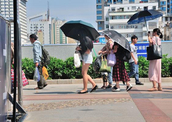 Près de la gare de Nanning. Guangxi, Chine 2017 ©AYMERICH Michel