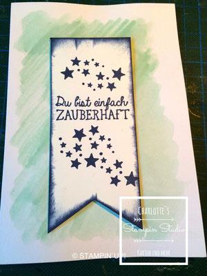 Stampin Up! Einfach so - Karte, Be the Star, Ein kleiner Gruß