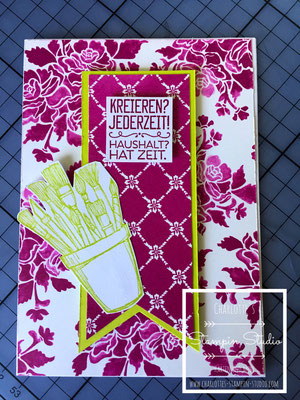 Stampin Up! Einfach so - Karte, Kreiert mit Liebe