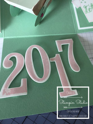 Stampin Up! Explosionsbox, Box, Geburt, Baby
