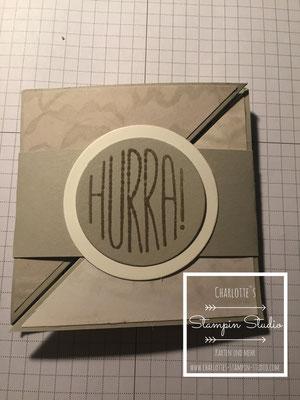 Stampin Up! Geburtstagskarte, Konfetti-Grüße