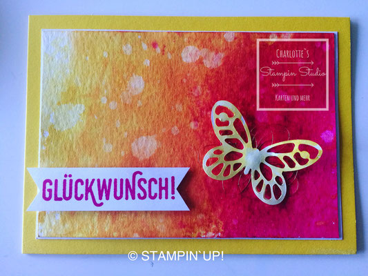 Stampin Up! Framelits Schmetterling