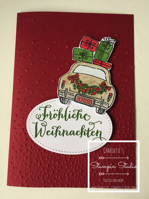 Stampin Up! Weihnachts - Karte, Christmas, Wonderful life