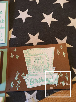 Stampin Up! Explosionsbox, Box, Geburtstag, 40