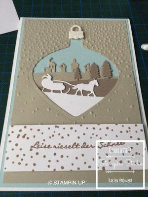 Stampin Up! Weihnachts - Karte