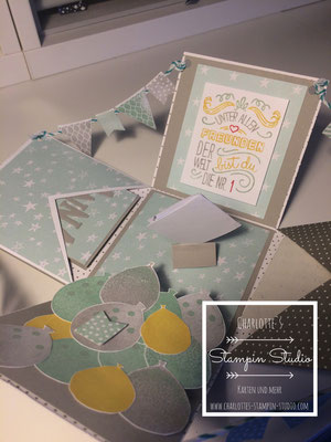Stampin Up! Explosionsbox, Box
