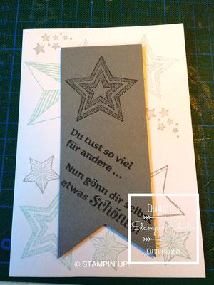 Stampin Up! Einfach so - Karte, Be the Star, Geschenk deiner Wahl