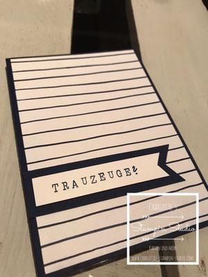 Trauzeuginnen Karte, Stampin Up, Lapap, Charlottes Stampin Studio