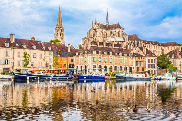 Stadt von Auxerre (c) SKR
