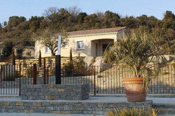 Außenansicht Villa Muscat