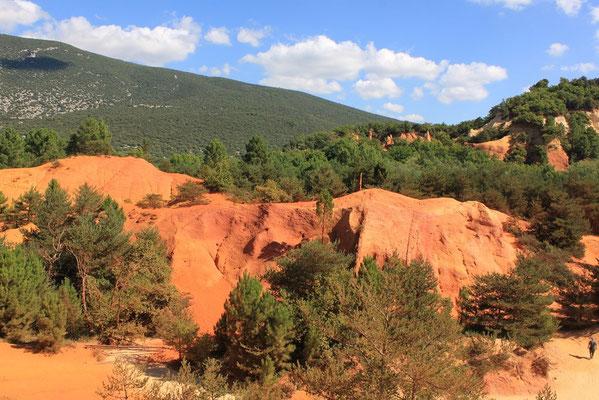 Ockersteinbruch von Roussillon