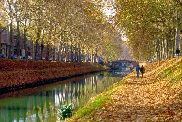 Herbst am Canal du Midi © ATOUT FRANCE/Eric Bascoul