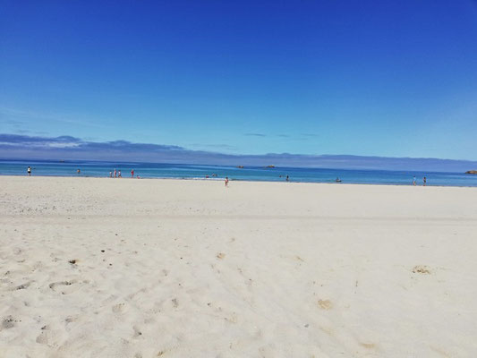 Strand 50 Meter entfernt