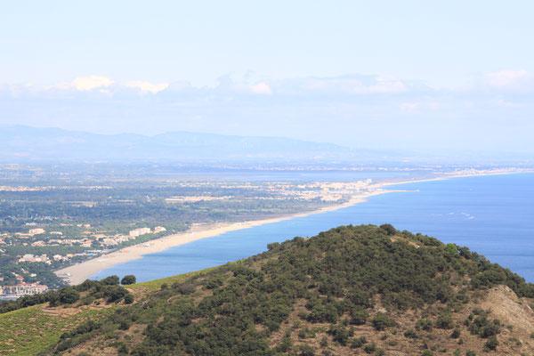 Blick auf die Region Okzitanien