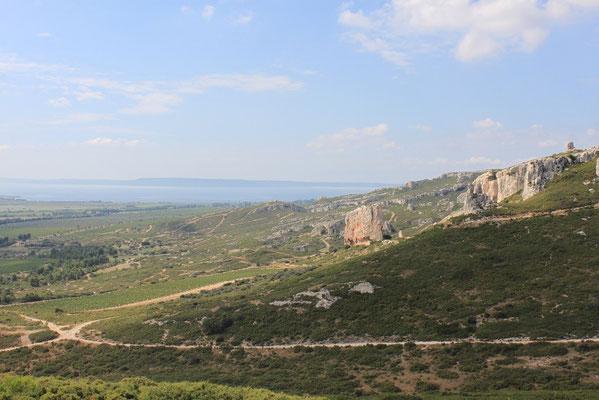 Blick auf Étang de Berre