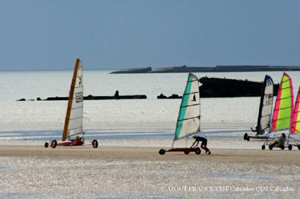 Strandsegeln Normandie
