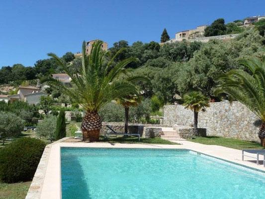 Villa Palmeraie Korsika