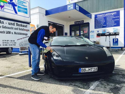 db Brenner Karosserie & Lack Bondorf - Lamborghini