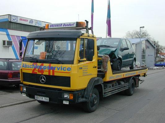 db Brenner Karosserie & Lack Bondorf - Abschleppwagen