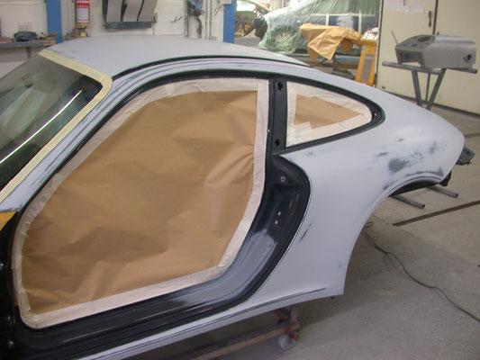 db Brenner Karosserie & Lack Bondorf - Porsche Ganzlackierung