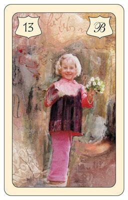 Nr. 13 Kind - Kind, Arbeitskollegin,  junge Frau, Freundin, Geliebte, Naivität, Unschuld, Jugend , Neubeginn